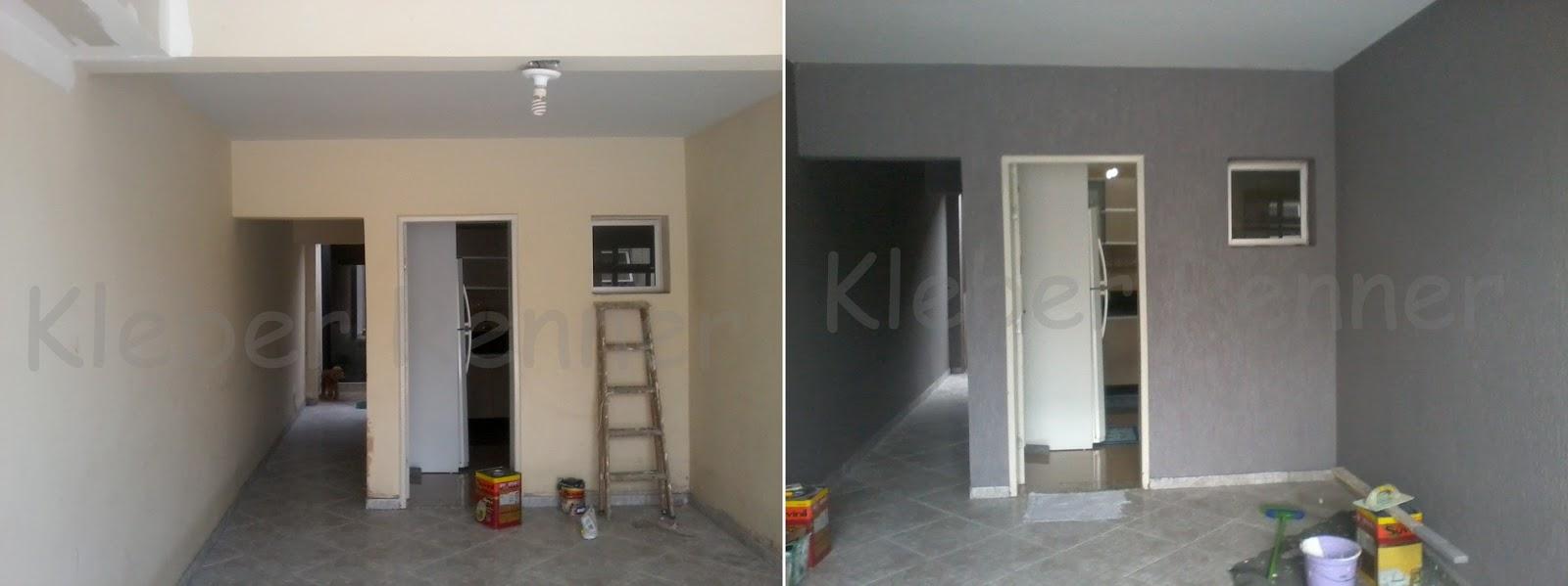 Kleber Renner Pintura E Grafiato -> Fotos De Paredes Com Grafiato