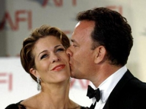 Tom hanks rita wilson married 23 years tom hanks rita wilson bosom