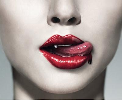 Beautiful Red Girls Lips