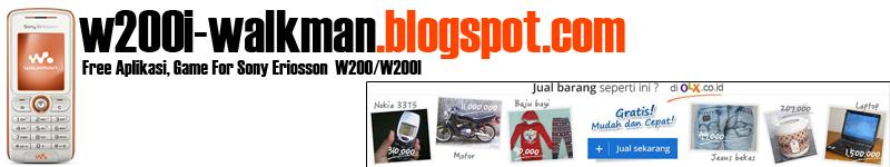 Penggermar Sony Ericcsons W200i Walkman