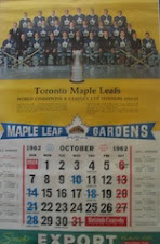1962 Leaf Calendar