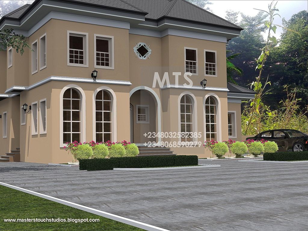 House plans and design nigerian architectural home designs for Nigerian architectural designs
