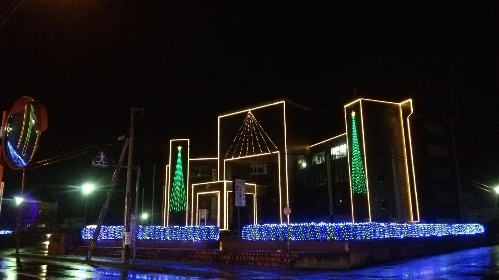 Hirakawa City Illuminations 2014 平川市イルミネーション 平成26年