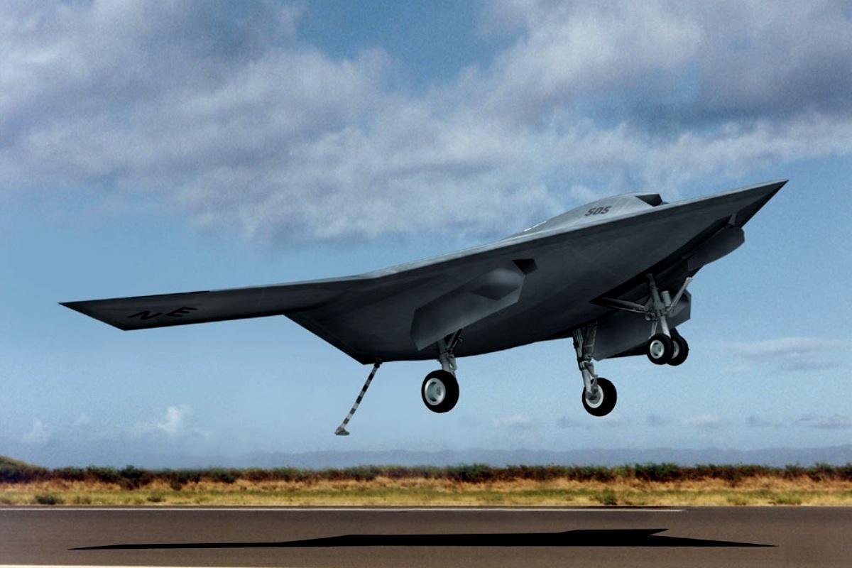 X-47B Jet Fighter UAV Wallpaper 2