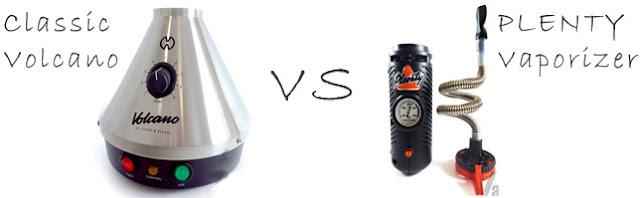 PLENTY vs Volcano Vaporizer