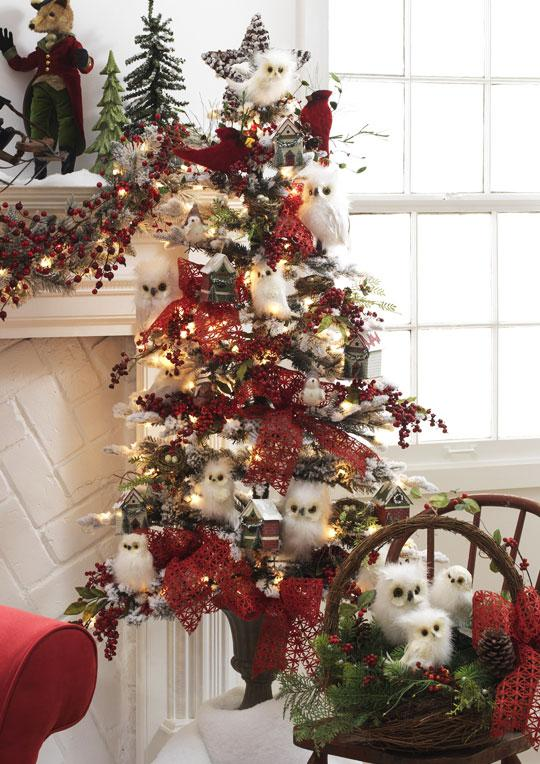 raz christmas at shelley b home and holiday snowy. Black Bedroom Furniture Sets. Home Design Ideas