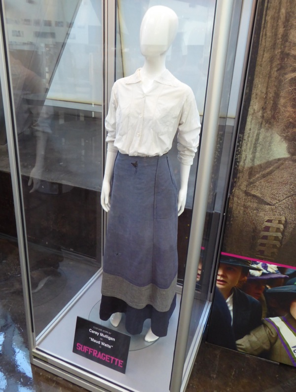 Carey Mulligan Maud Watts Suffragette movie costume