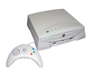 apple bandai pippin white console