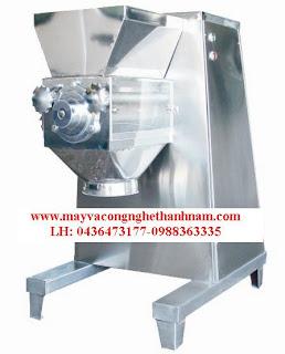 Chuyên máy ngành dược, máy xát hạt lắc YK 160, máy trộn bột, máy bao viên