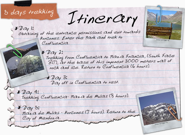 How to write an itinerary for an essay
