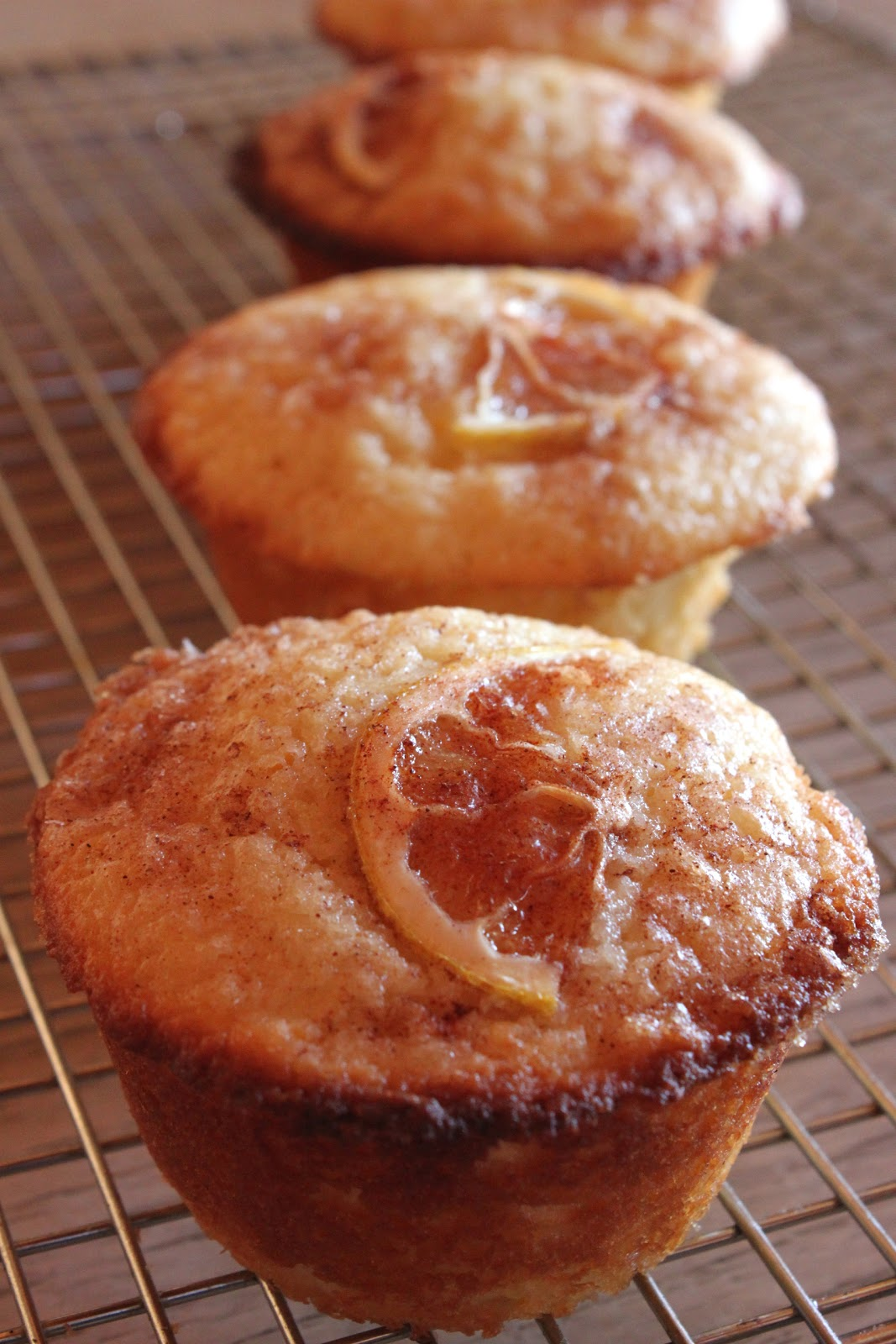 Meyer lemon muffins from the Los Angeles Times
