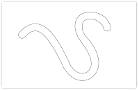 pencil line free hand embroidery pattern
