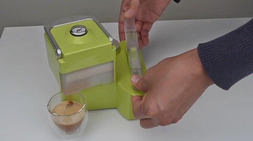 Nomad, Maquina Ecológica para Hacer Cafe