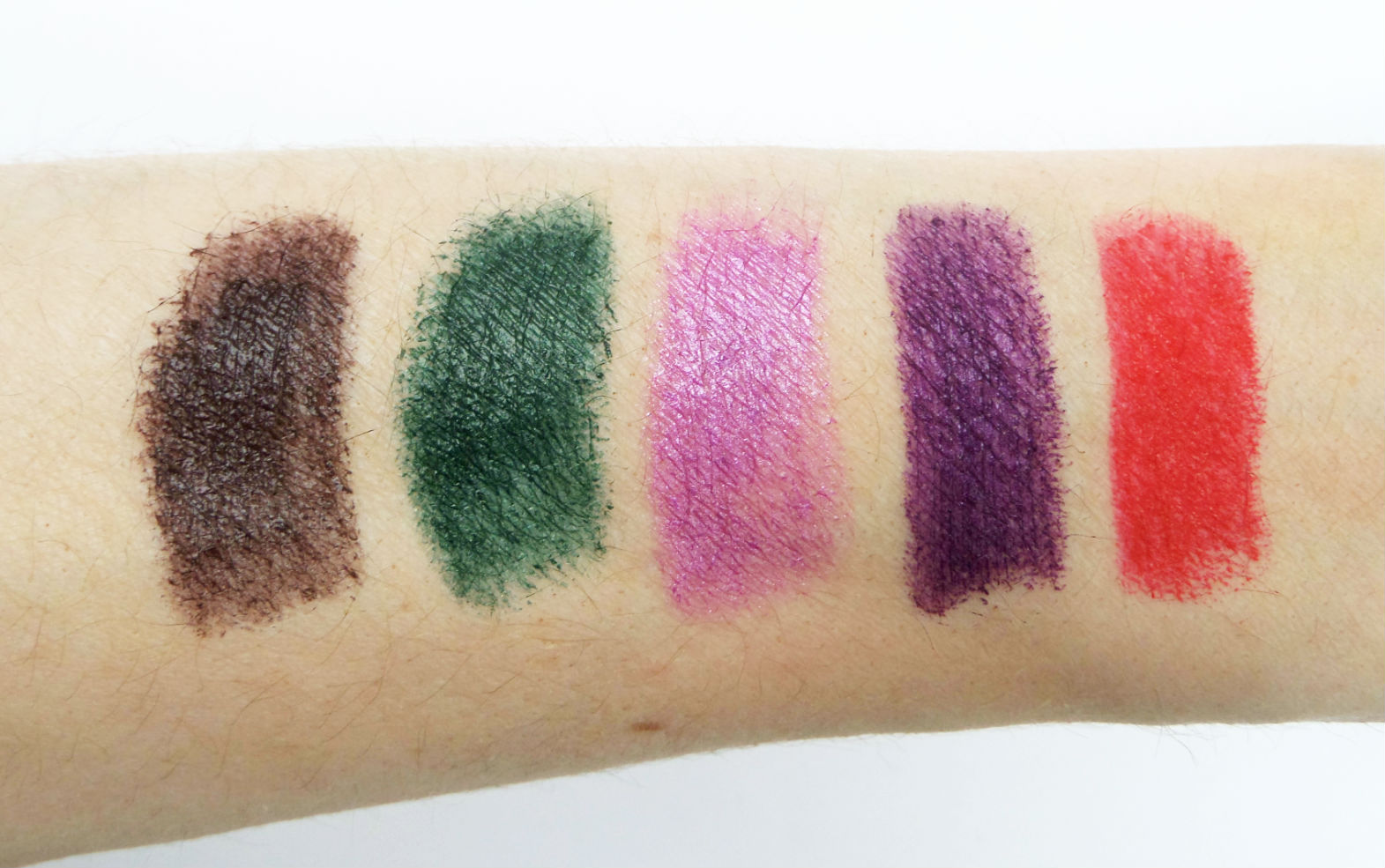 The Makeup Revolution Atomic Lipstick Collection Swatches