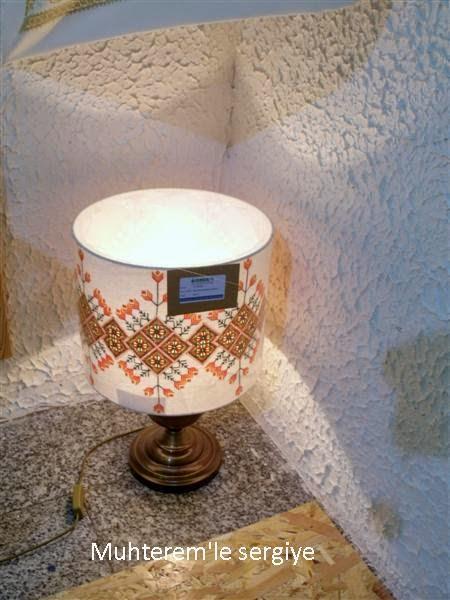 hardanger lampshade