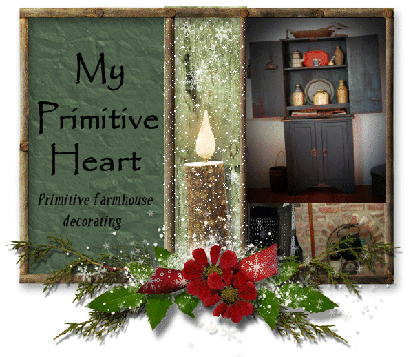 My Primitive Heart-Decorating Ideas &amp; more