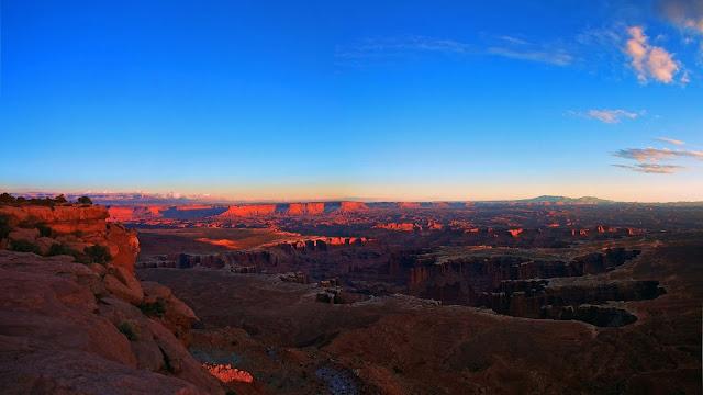 Canyon Panorama Nature Shoot