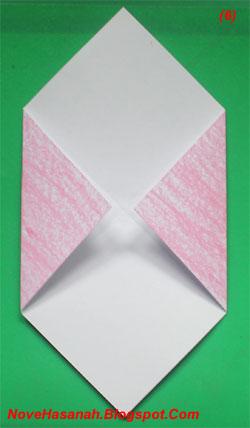 cara mudah membuat origami anjing