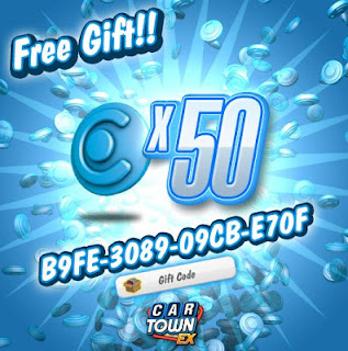 Car+Town+EX+Gift+Code+50+Blue+Point www.gamebloginf.blogspot.com