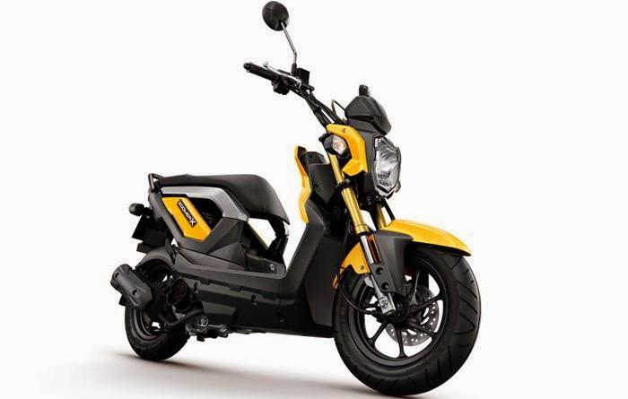Foto Honda Zoomer X Motor Skutik Indonesia Terbaru Spesifikasi Harga