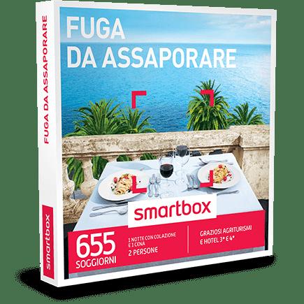 SMARTBOX Cofanetto Regalo Fuga da Assaporare €89.90