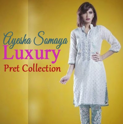 Ayesha Somaya Luxury Pret Collection
