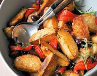 Batatas Crocantes com Pimentão (vegana)
