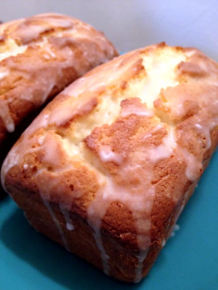Cream Cheese Pound Cake With Lemon Glaze Cupcake Boom