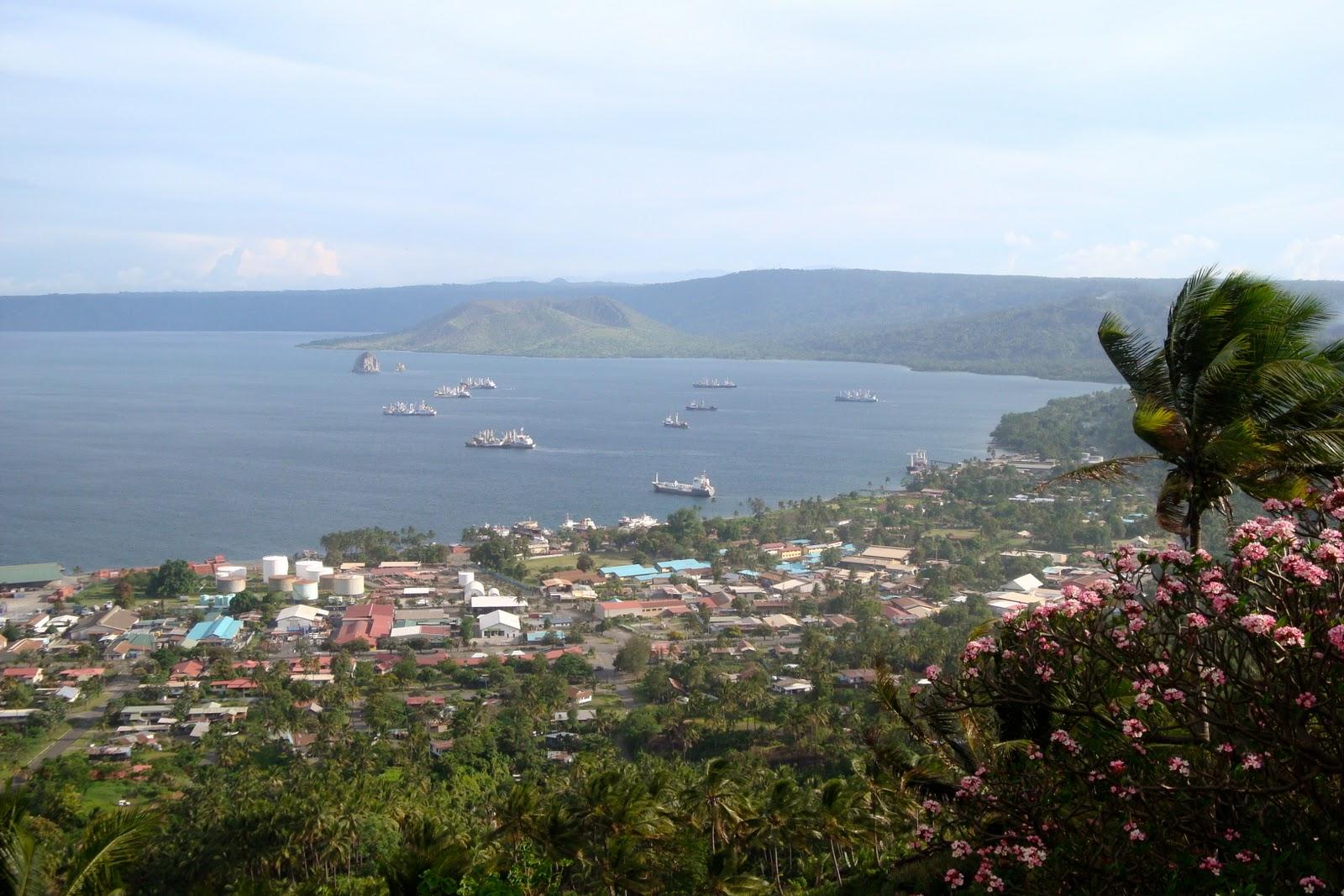 Rabaul (New Britain Island, Papua New Guinea) cruise port