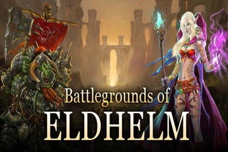 غلاف لعبة Battlegrounds of eldhelm