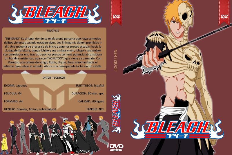 Capa DVD Bleach Jigoku Hen