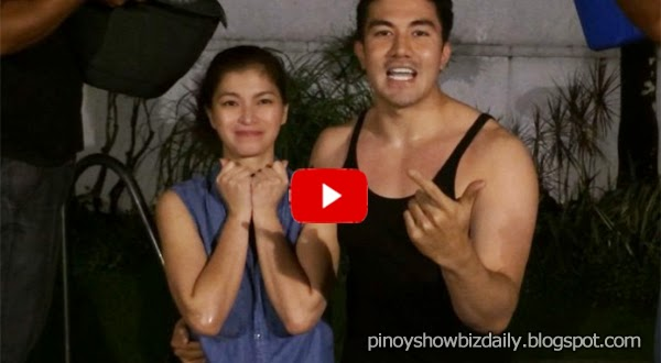 Angel Locsin takes the ice bucket challenge but calls to conserve water