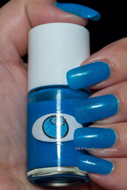Shimmer Jelly Blueberry The Nail Junkie