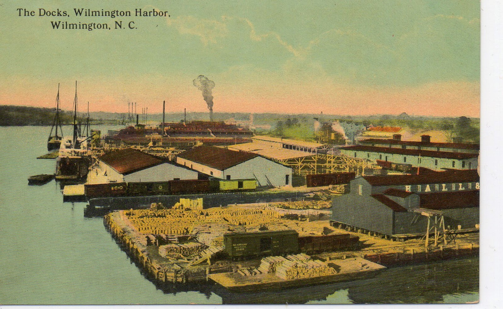 Those Places Thursday:  Postcards of Wilmington, NC --How Did I Get Here? My Amazing Genealogy Journey