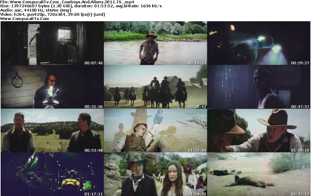 Capturas de Cowboys vs Aliens 2011 [TS] Subtitulos Español Latino
