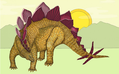 Why did the Stegosaurus have plates?