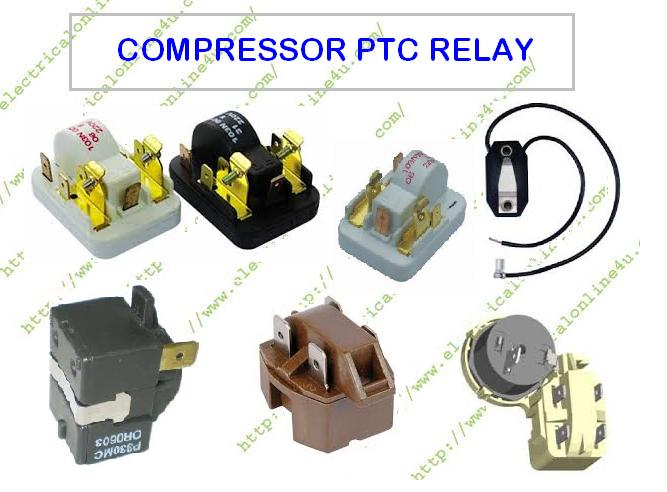 what is role of ptc relay and how a compressor ptc relay works rh electricalonline4u com air horn compressor relay wiring diagram compressor start relay wiring diagram