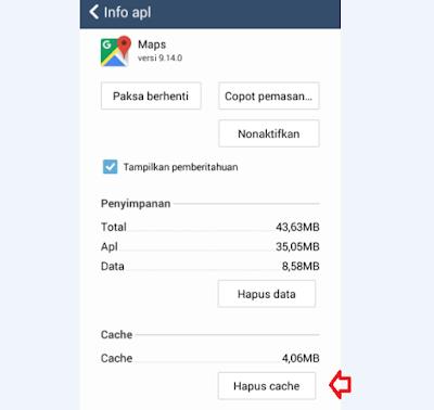 Cara Membersihkan Cache Aplikasi Android