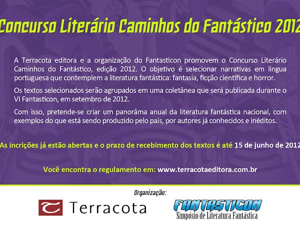 Concurso Literário Caminhos do Fantástico 2012