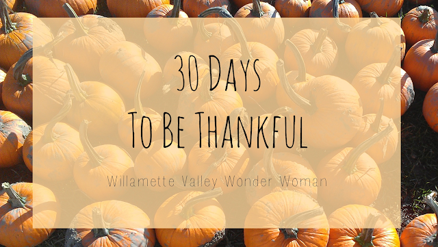 30 days to be thankful