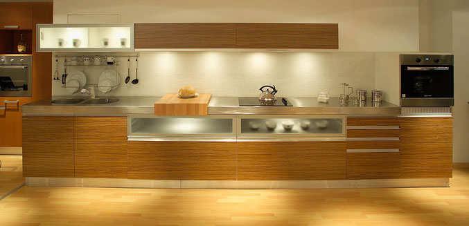 Cocina lineal 4 metros beautiful cocina abierta al saln Cocina 3 metros lineales