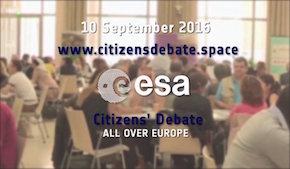 Debate Europeo sobre el Espacio