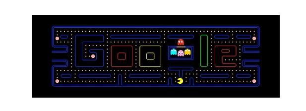 30th Anniversary of PAC-MAN doodle