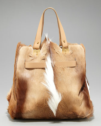 Christian Louboutin Sybil Tote - Springbok Fur
