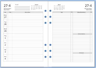 diversi formati di agenda da stampare gratuitamente