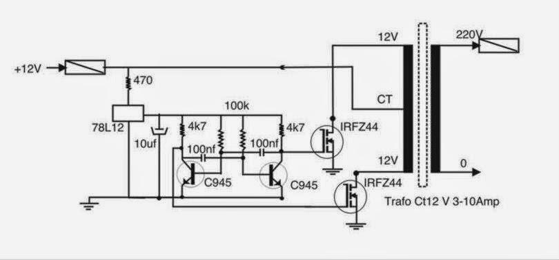 cara membuat inverter