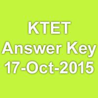 Kerala TET Answer Key Morning & Afternoon Shift 2015