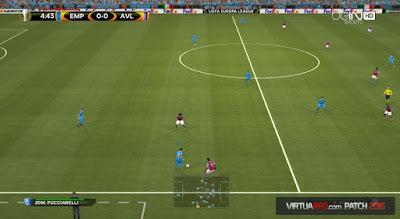 PES 2016 dengan VirtuaRED.com Patch