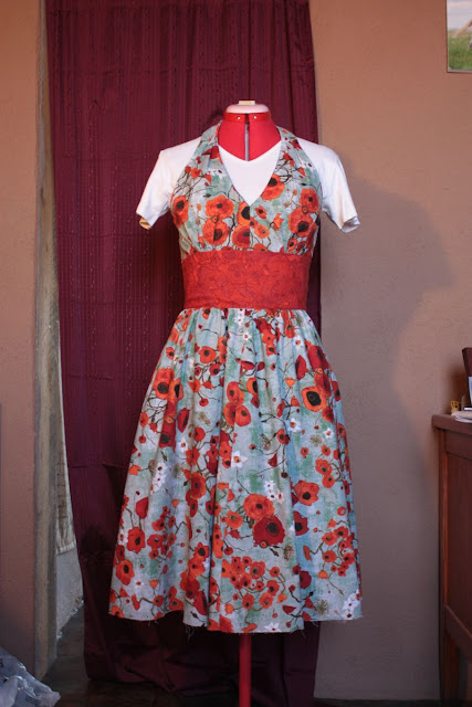 Simplicity 2884 Poppy Swing Dress