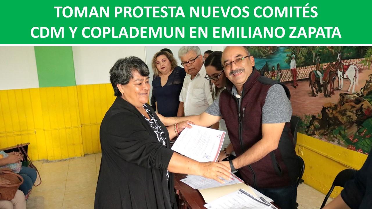CDM Y COPLADEMUN EN EMILIANO ZAPATA